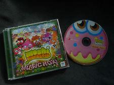 MOSHI MONSTERS MUSIC ROX ULTRA RARE AUSTRALIAN CD!
