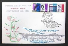 GB 1964 Forth Bridge Souvenir FDC with South Queensferry CDS NB360