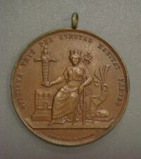 1830 HAMBURG GERMANY GERMAN MEDAL OLD BRONZE AWARD DOCTOR PHYSICIAN SCIENCE LOOS