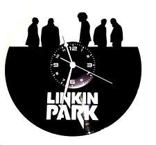 OROLOGIO DA PARETE ARTIGIANALE - VINILE -  ROCK POP - LINKIN PARK