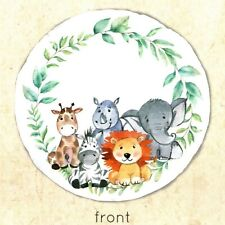 The Sweetest Moment Reversible Baby Playmat with Safari Animals