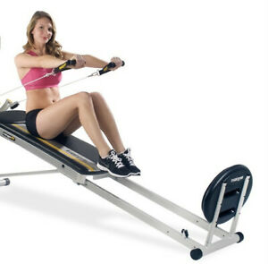 TOTAL GYM FIT SELECT SERIES W/ ATTACHMENTS, CARD DECK, AB CRUNCH, WING BAR, WOW!