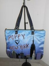 RARE COACH POPPY NEW YORK TOTE BAG LIMITED EDITION 15888 EUC