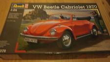 Revell 07078 VW Beetle Cabriolet 1970 échelle 1/24.