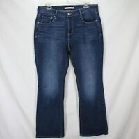 "Levis 515 Bootcut Jeans Womens Sz 10 Dark Wash Blue Denim 30"" Inseam"