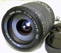 Sigma AF 18-125mm f3.5-5.6 DC Lens 4/3 Mount Evolt Olympus E330 E510 Four Thirds