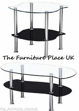 Chrome Contemporary Coffee Tables with Flat Pack