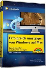 video2brain Erfolgreich umsteigen von Windows auf Mac, 7 Std. Video DVD NEU