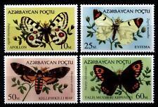 Schmetterlinge. 4W. Aserbaidschan 1995