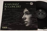 JOAN BAEZ:LP-CONCERT 2-ORIGINALE ITALIA 1965 NM CONDIT.