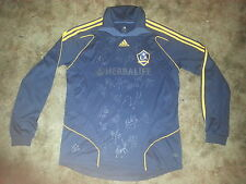 LOS ANGELES GALAXY SIGNED 2013 ADIDAS L/S JERSEY