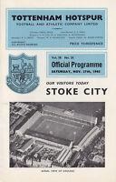 65/66 Tottenham v Stoke