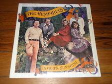 THE HEMPHILLS IN GOLD'S SUNSHINE LP SHRINK Southern Gospel Christian Music)