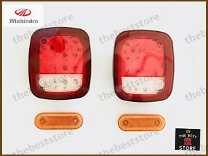 LED REAR TURN SIGNAL+LED TAILLIGHT WRANGLER TYPE FOR MAHINDRA ROXOR JEEP KAISER