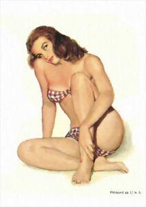 Esquire 1948 Pin Up Girl Calendar | A1, A2, A3 | Poster #2
