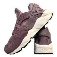Nike Huarache Croc Print Womens Shoes Size Uk 6 Purple Running Trainers EUR 39.5