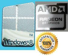 Scheda grafica AMD Radeon senza PC windows 8 Computer Adesivo 10 ORIGINALE 7 XP VISTA UK