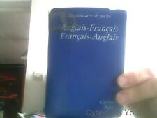 Dictionnaire de poche Anglais-Francais- Garnier Paris 1966