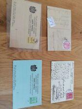 Montenegro Lot Ganzsachen Briefe
