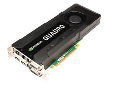 Nvidia Quadro K5000 Cad Graphic Card 4GB Ram Pcie 2xDVI 2x Displayport