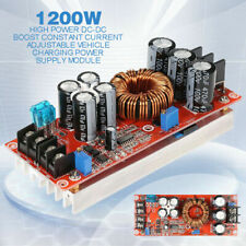 DC-DC 1200W 20A Adjustable Boost Step-Up Converter Power Module 8-60V TO 12 SG