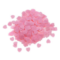 2000/1000pc/set DIY Heart-shaped Accessory Wedding Throwing Confetti Table Decor