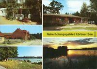 Körba Lebusa Eisboy, Dorfstraße, Köbaer See, Campinggaststätte 1995