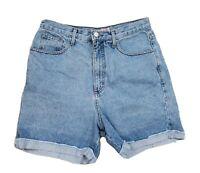 Vintage 90s Guess Mom Jean Shorts Jorts USA  Made 32 Womens High Waisted