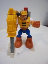 FISHER PRICE RESCUE HEROES  JACK HAMMER CONSTRUCTION EXPERT