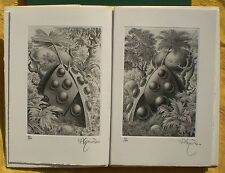 2 gravures originales de Ramon ALEJANDRO. Pierre BETTENCOURT. (E.O. Num. Sig)i)