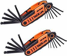 Folding Hex Keys, TACKLIFE 24pcs Ball End Folding Hex Wrench Set, 2 Pack