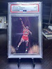 1993-94 Ultra Scoring Kings 5 Michael Jordan PSA 9 MINT