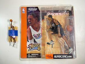 2002 MCFARLANE NBA SERIES 1 ALLEN IVERSON BLACK JERSEY VARIANT FIGURE SEALED NEW