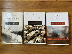 The Border Trilogy Cormac McCarthy Hardcover All The Pretty Horses...