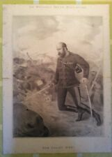 WHITEHALL REVIEW 1881 HOW GENERAL COLLEY DIED Majuba Hill First Boer War