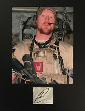 Navy Seal who killed Osama bin Laden, Robert O'Neill JSA SIGNED CUT AUTOGRAPHED