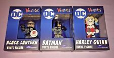 DC VINIMATES VINYL COLLECTIBLE FIGURES BATMAN + HARLEY & BLACK LANTERN *NEW*