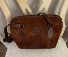 RARE CARDON `Cosas Nuestras`Women's Brown Suede/Leather Purse Made In Argentina