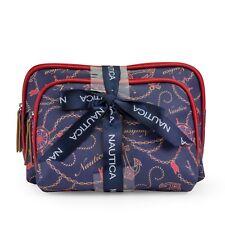 NAUTICA 2pc Case Travel Toiletry Cosmetic Bag