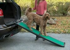 PetGear TravelLite Ramp with SupertraX mat is soft only 7 pounds.Rubberized grip