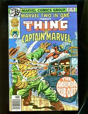 MARVEL TWO IN ONE 45(2.0)CAPTAIN MARVEL-THING(b015)