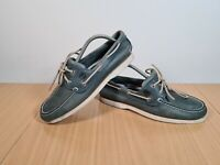 Timberland Earthkeepers Men's Blue Lace Up Boat Deck Shoes 9W Size UK8 EU42