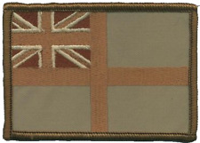 Royal Navy RN Ensign Desert MOD Embroidered Patch