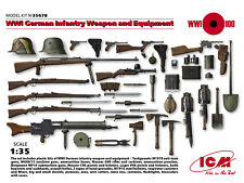 ICM 1/35 WWI German Infantry Weapon & Equipment # 35678