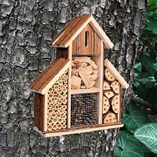 Heritage Fix On Insect Wooden Hotel Nest Home Bee Keeping Bug Garden Ladybird