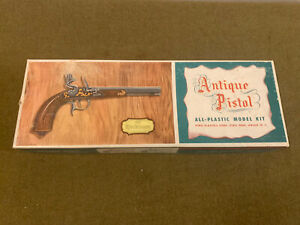 VINTAGE PYRO THE YORKTOWN ANTIQUE PISTOL GUN MODEL UNASSEMBLED MINT IN BOX