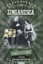 Dvd -ZINGARESCA (le origini del cinema 1925)