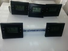 CRESTRON CHV-TSTATRF TSTATRFB THERMOSTAT INFINET WALL MOUNT HEAT COOL WIRELESS