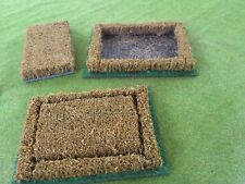 wargames scenery / terrain 15 to 20 mm scale, Two Cornfield section  in A5 box