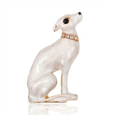Delicate Rhinestone Dog Animal Metal Brooch Pin Fashion Jewelry Women Gifts